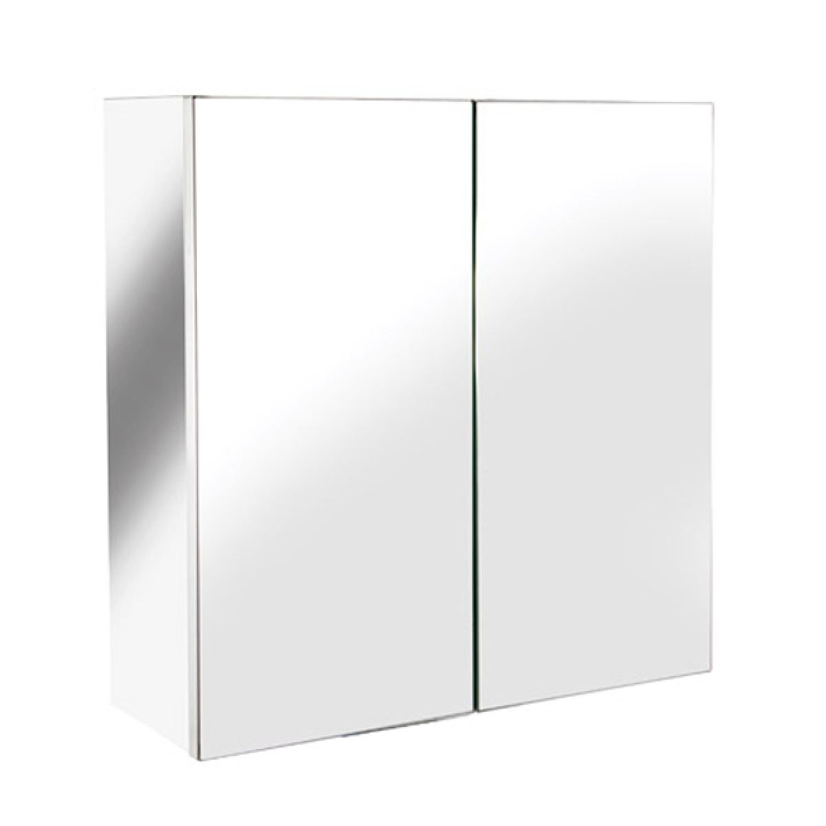 Croydex Avon Double Stainless Steel Bathroom Cabinet