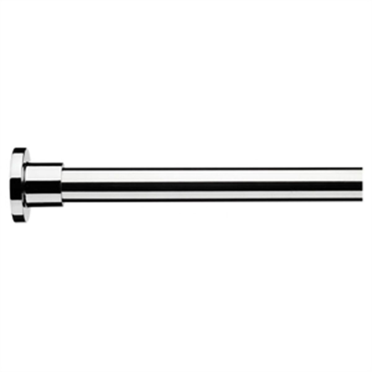 Croydex Superline Modular Shower Curtain Rail Kit Chrome