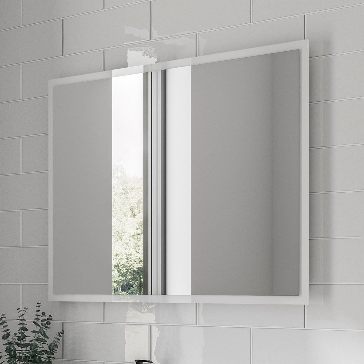 Elation LED Illuminated Mirror 800 x 600mm