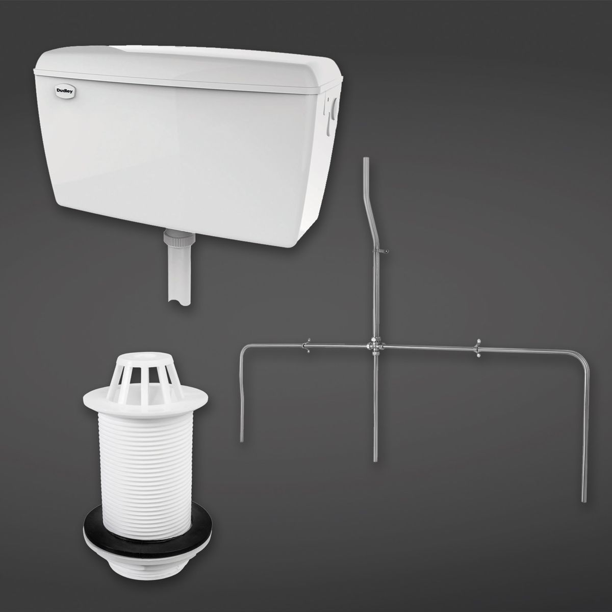 RAK Exposed Automatic Urinal Cistern 13.5L