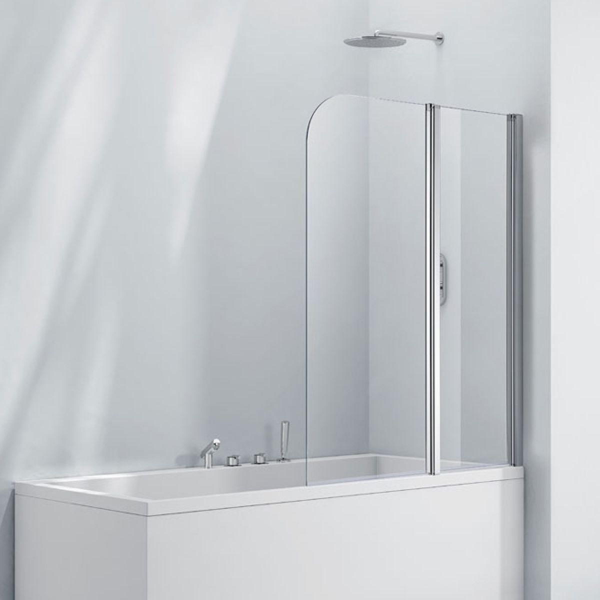 Frontline Aquaglass+ Double Folding Bath Screen