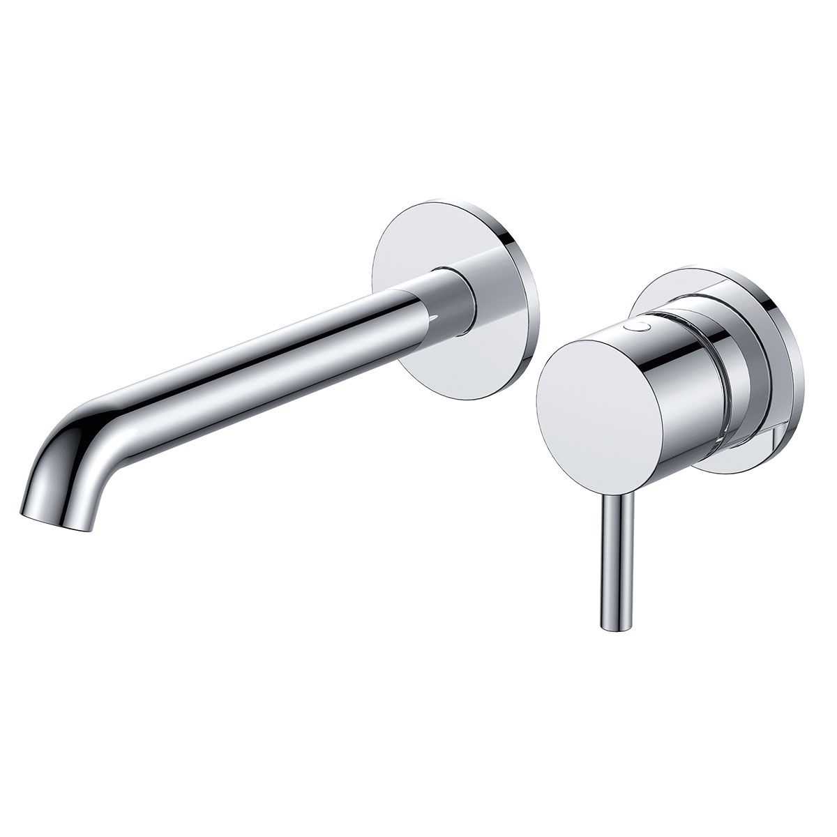 Frontline Chrome Mineral Wall Mounted Bath Filler