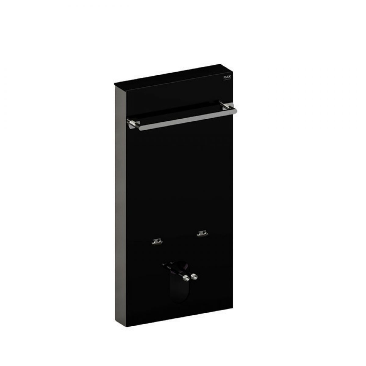 RAK Obelisk Ecofix Black Cistern Wall Hung Bidet Cabinet