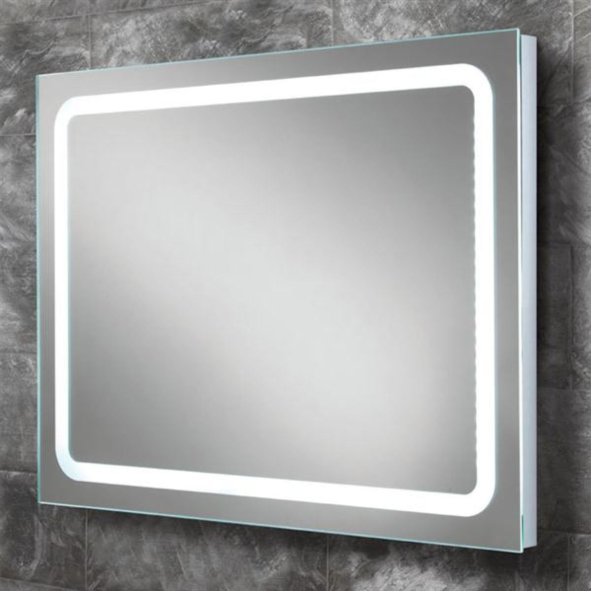 HiB Scarlet LED Back-Lit Bathroom Mirror