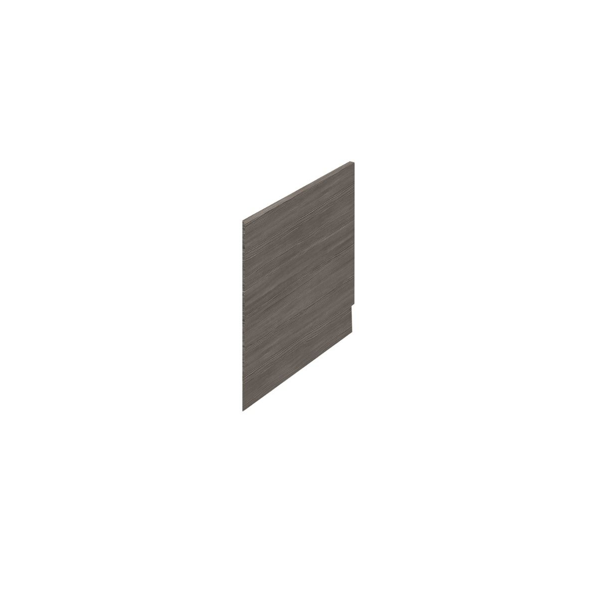 Hudson Reed Fusion Grey Avola End Bath Panel 680mm