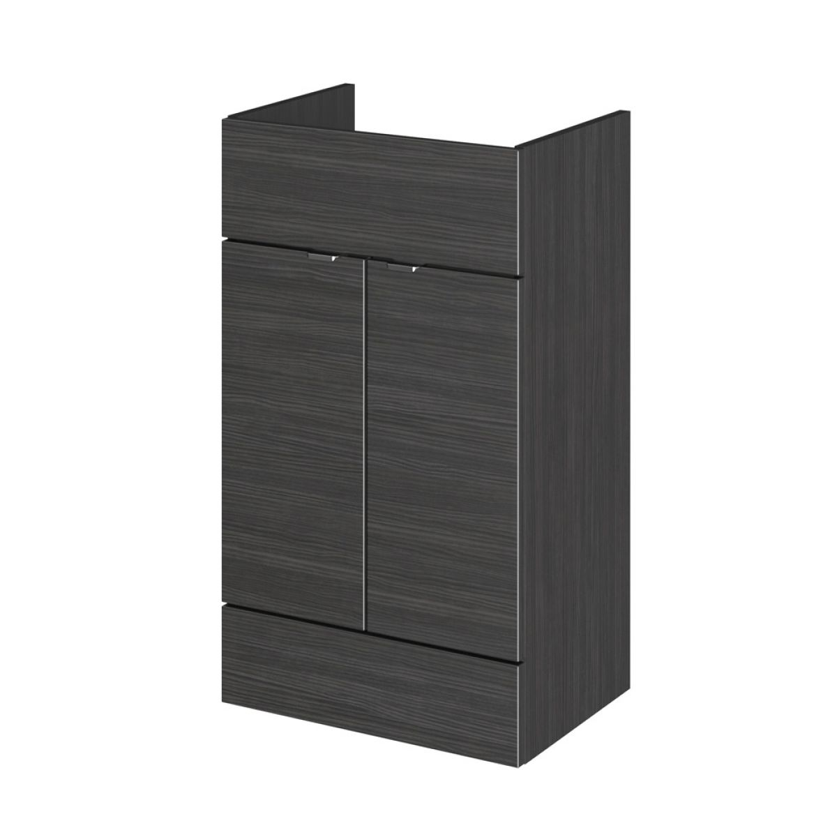 Hudson Reed Fusion Hacienda Black Full Depth Combination Furniture Pack 1000mm