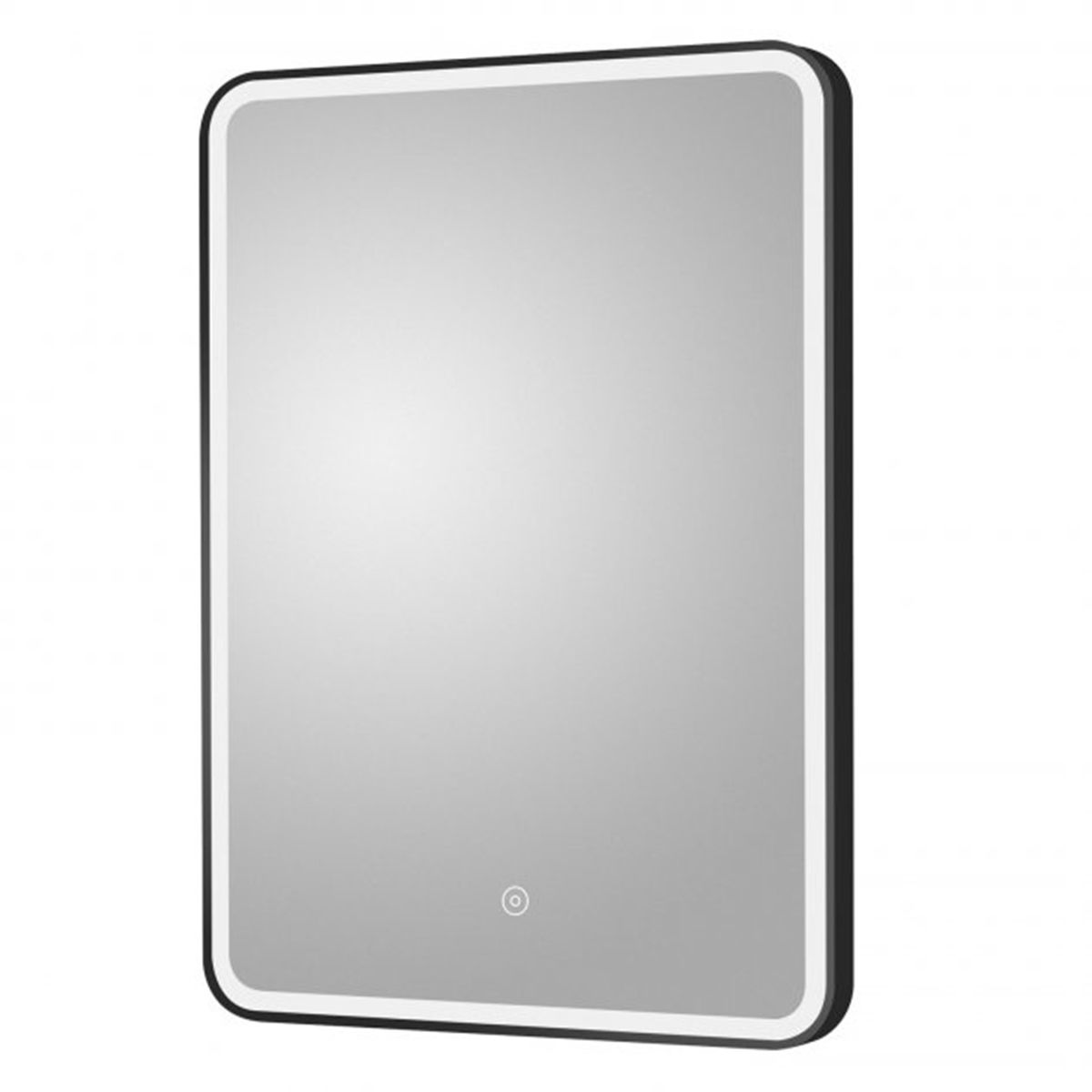Hudson Reed 700 x 500 Black Framed Mirror