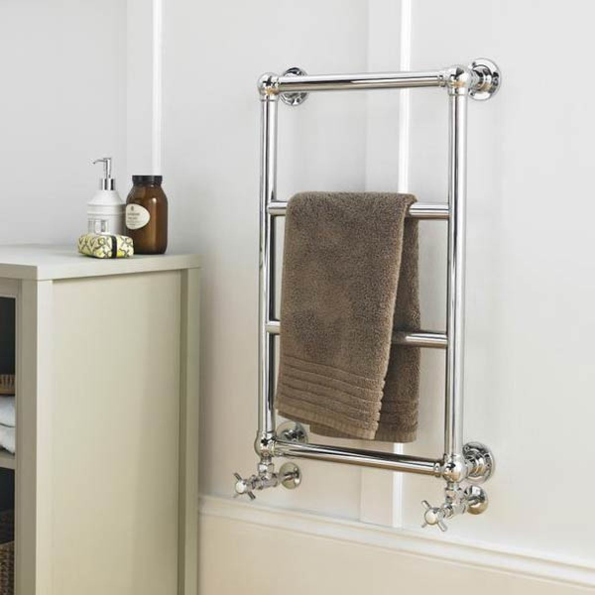 Hudson Reed Epsom Heated Towel Rail Lifestyle