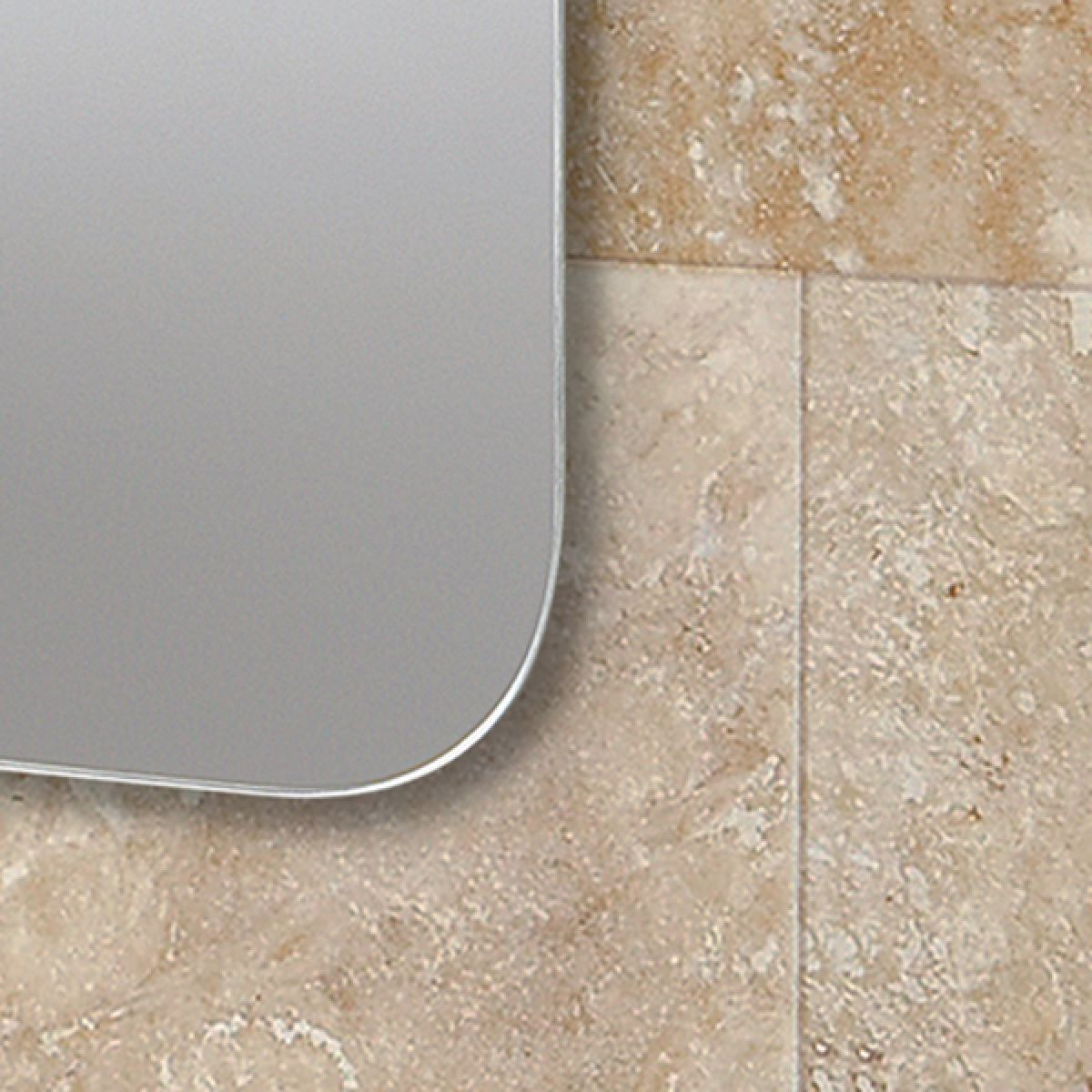 Jazz Heated Bathroom Mirror Detail