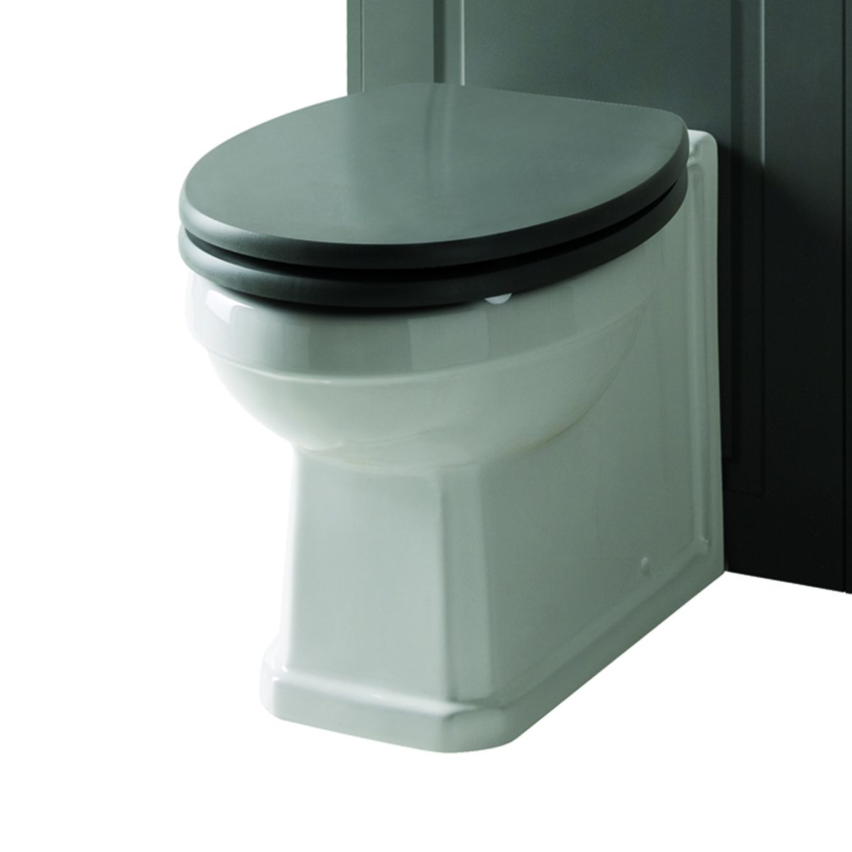 Kartell Astley Matt Grey Soft Close Toilet Seat