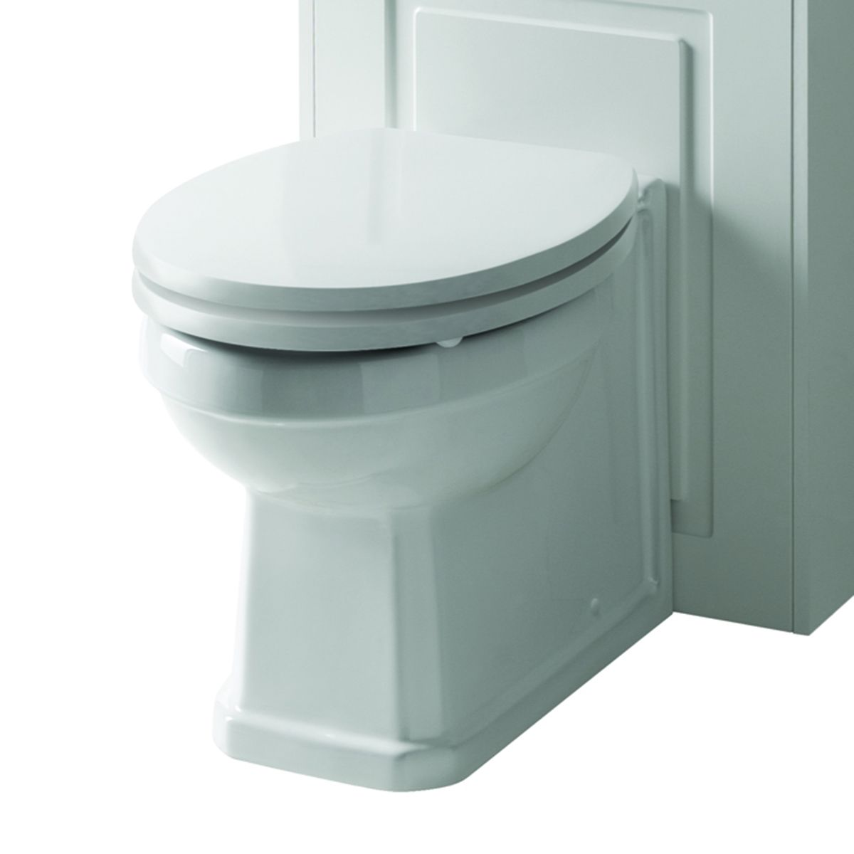 Kartell Astley Matt White Soft Close Toilet Seat
