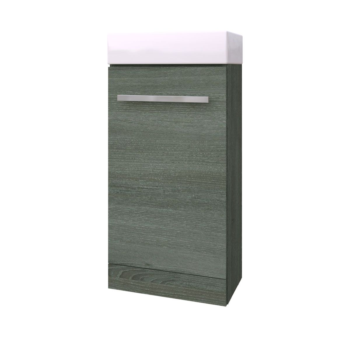 Kartell Purity Grey Ash Cloakroom Vanity Unit