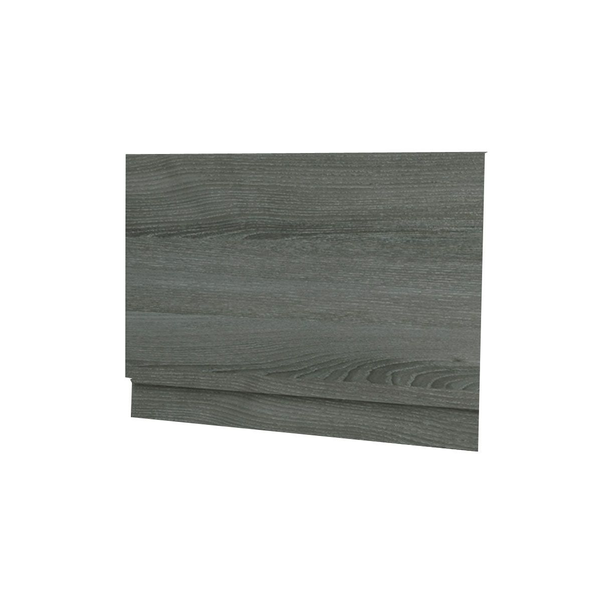 Kartell Purity Grey Ash 2 Piece Bath End Panel 700mm