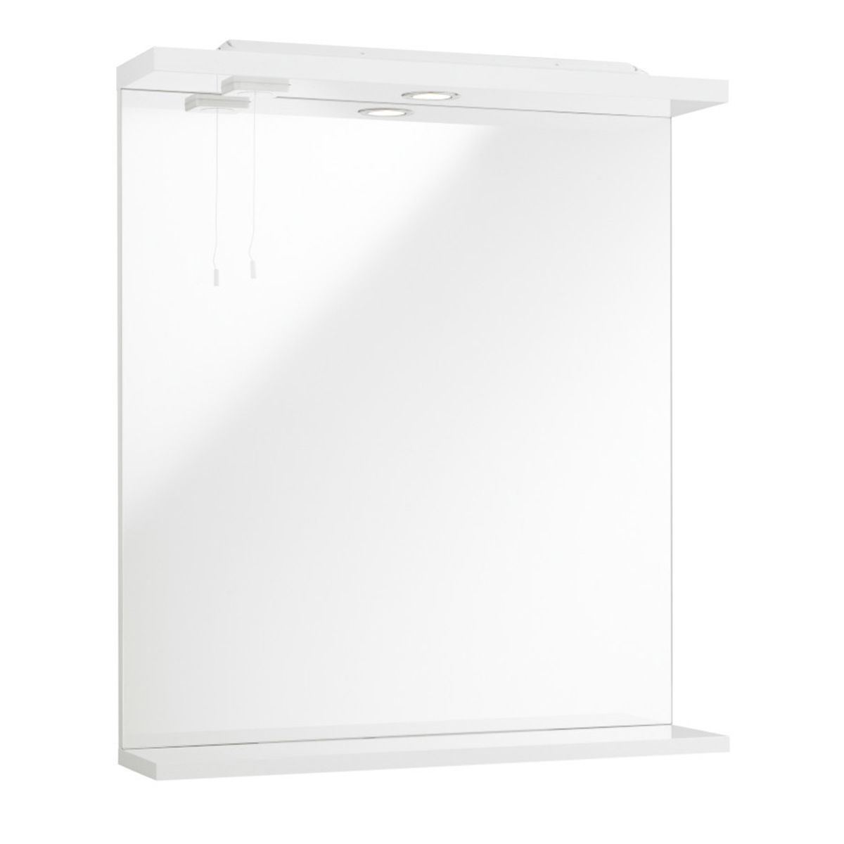 Kartell Encore White Mirror and Light 550mm