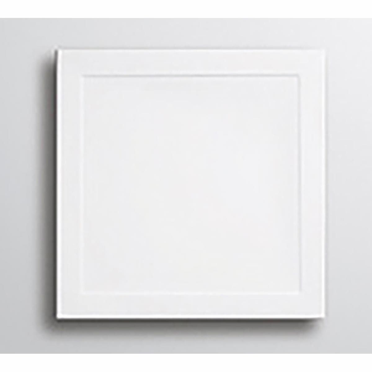 Lakes White Low Profile Square ABS Tray 1000mm