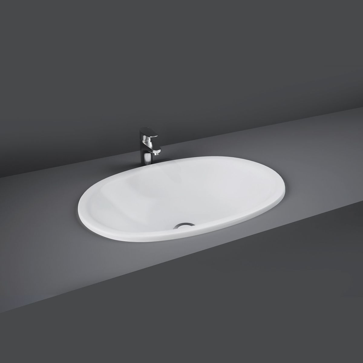 RAK Lily Over-Counter Vanity Bowl 460mm