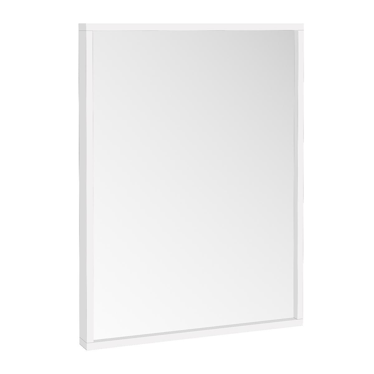 Manhattan Ambience Matt White Mirror 800x600mm