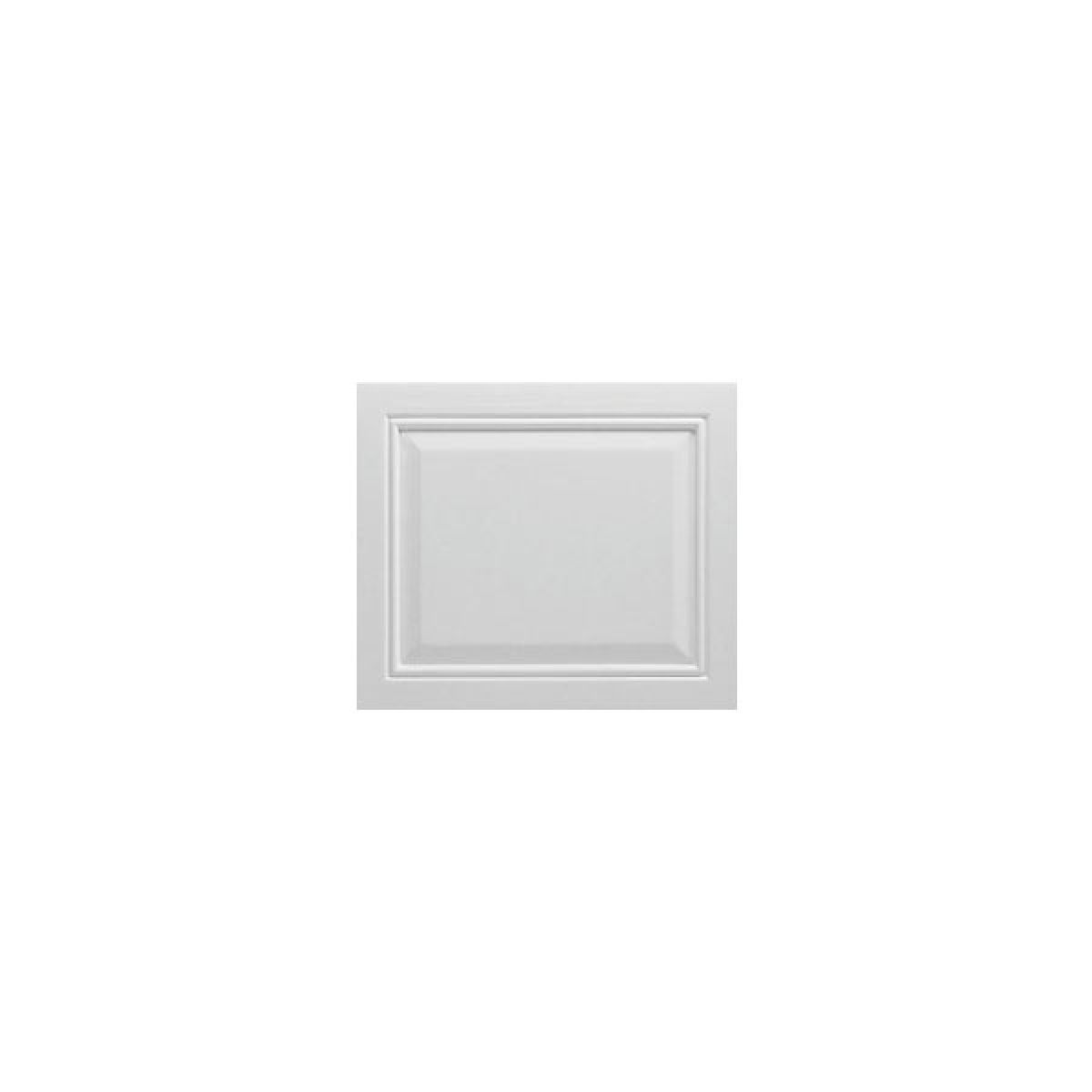 Moods Tudor Gloss White Acrylic Bath End Panel 700mm