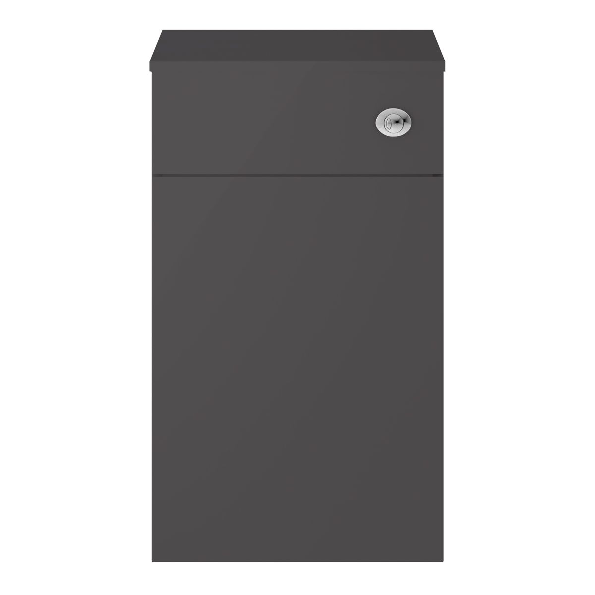 Nuie Athena Gloss Grey WC Unit 500mm