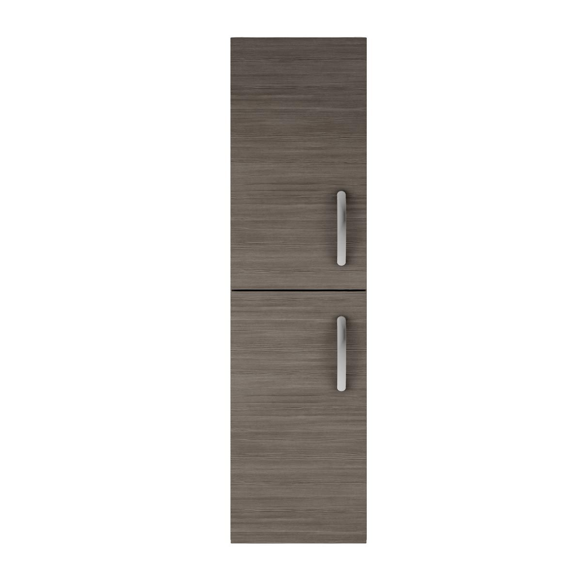 Nuie Athena Grey Avola Double Door Tall Unit 300mm