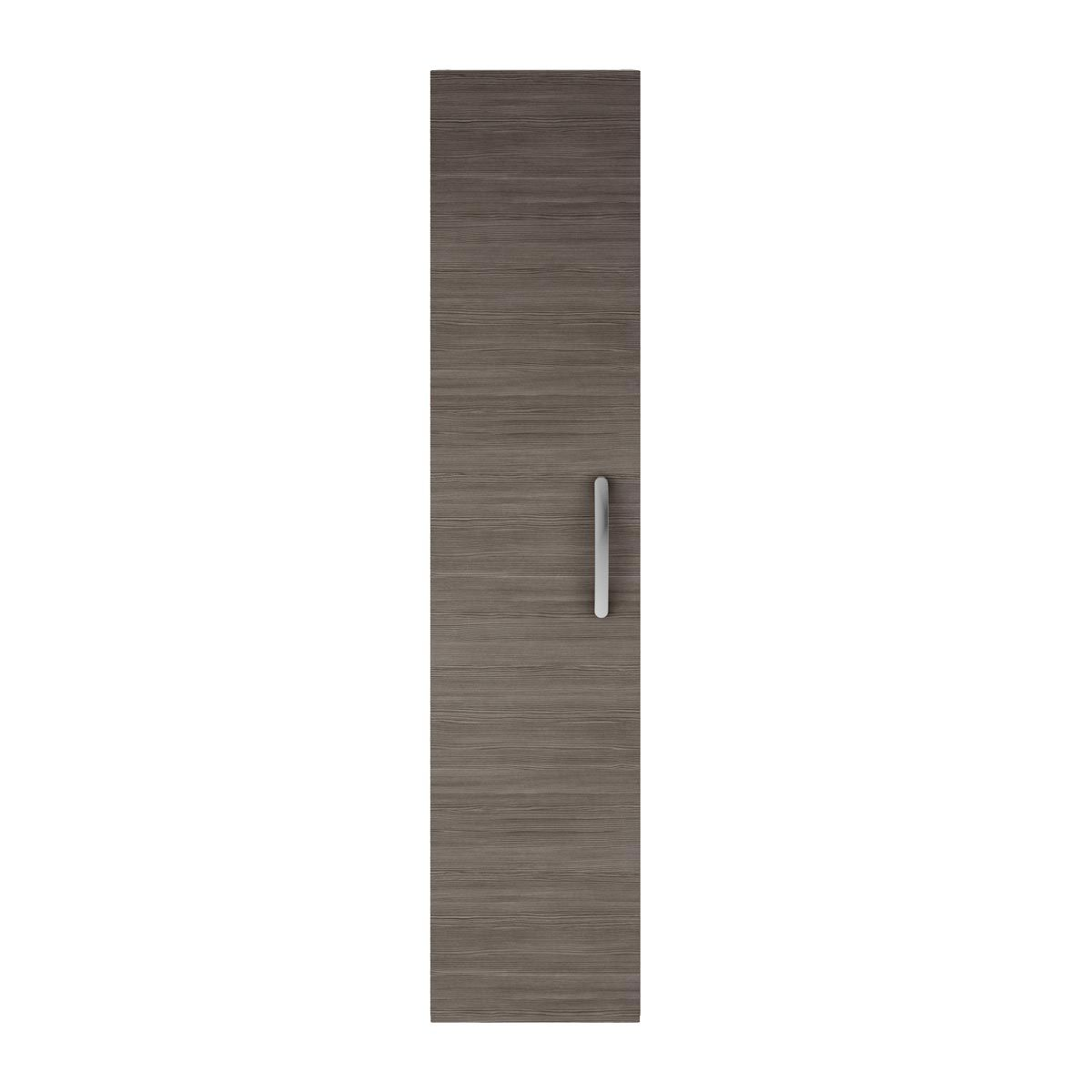 Nuie Athena Grey Avola Single Door Tall Unit 300mm