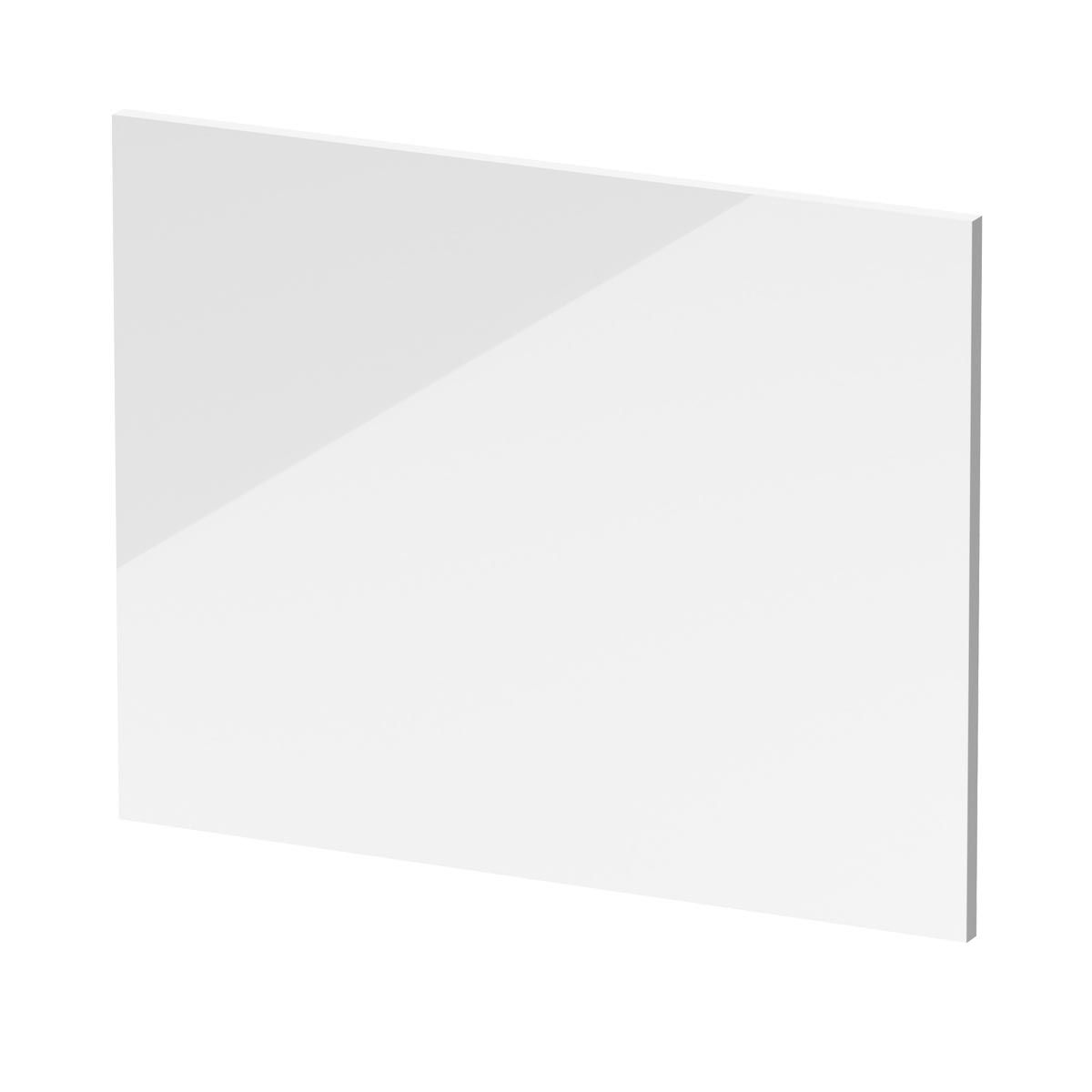 Nuie L Shape White End Bath Panel 680mm