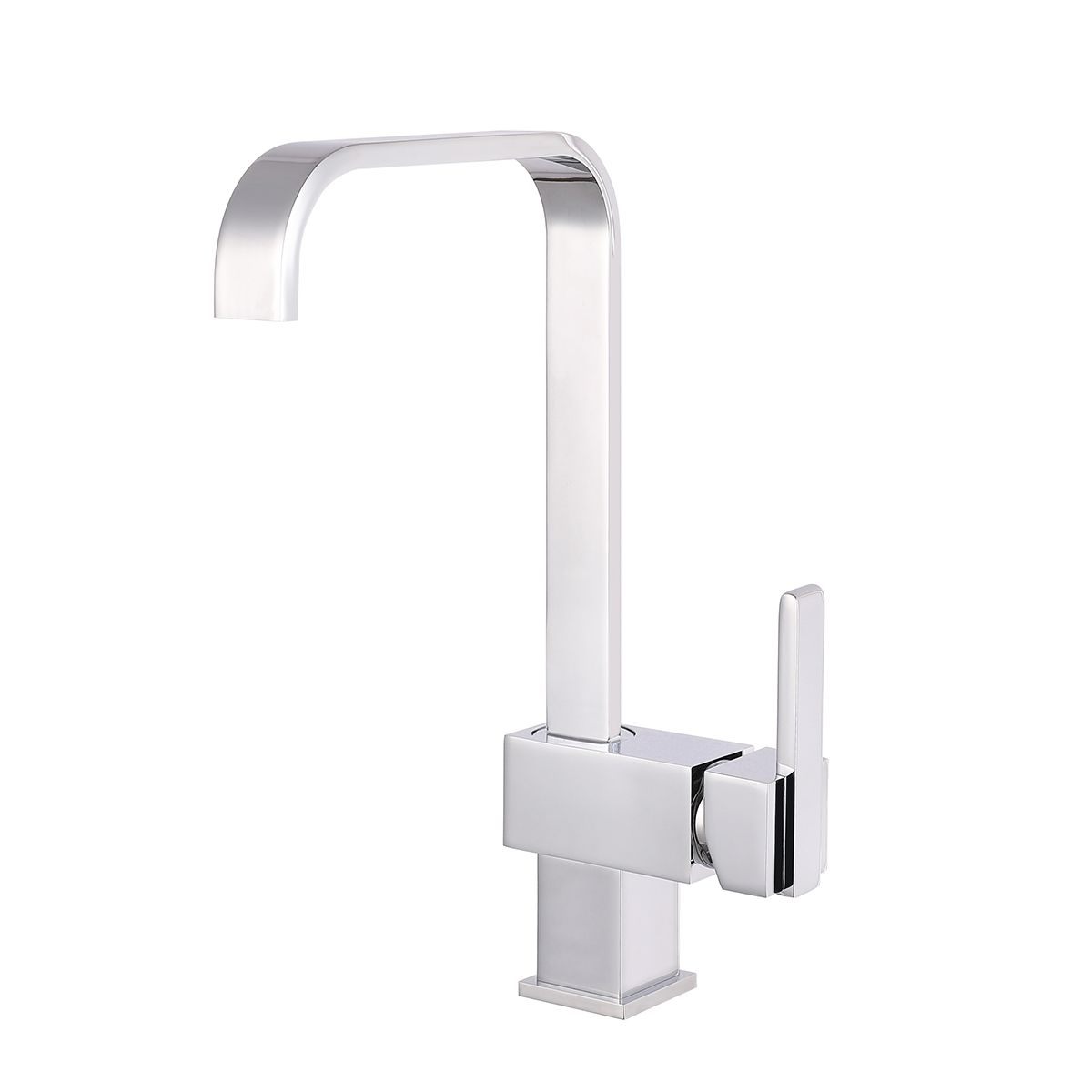 Nuie Square Side Action Kitchen Mixer Tap