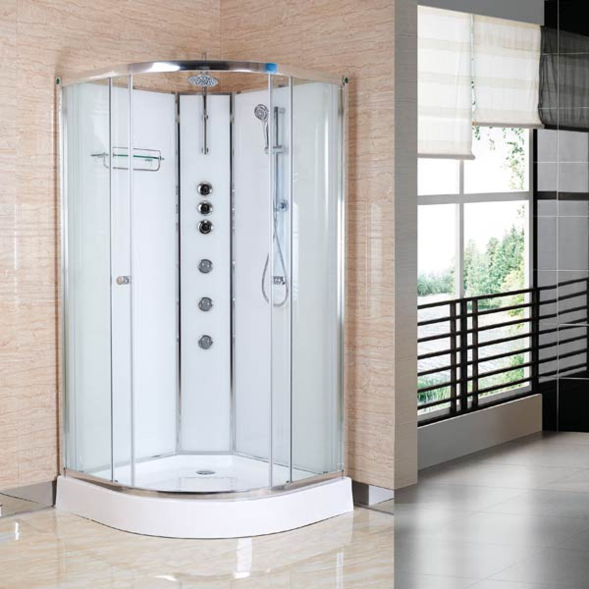 Premier Opus Quadrant Carbon White Cabin