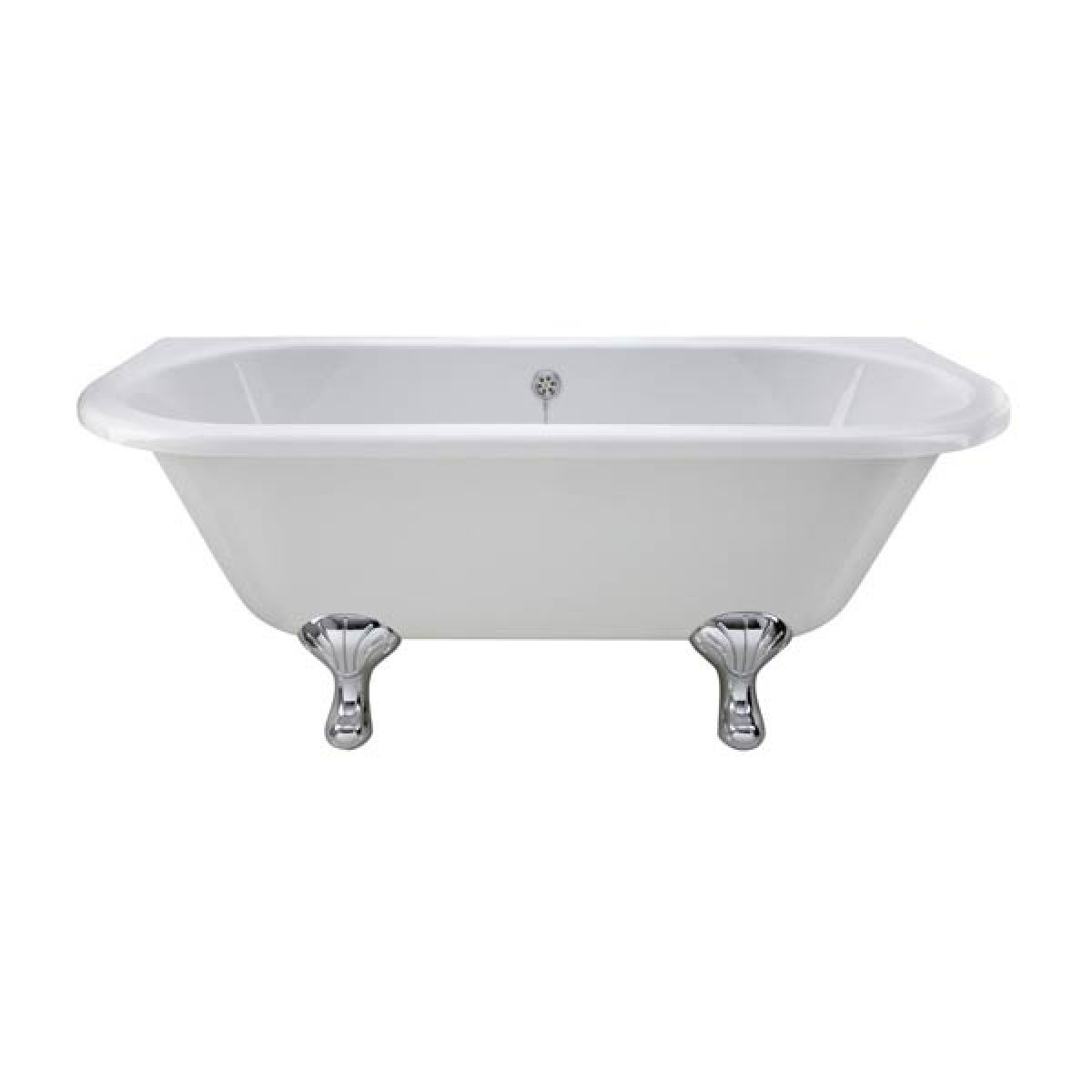 Premier Back to Wall Freestanding Bath with Corbel Leg Set 1700mm