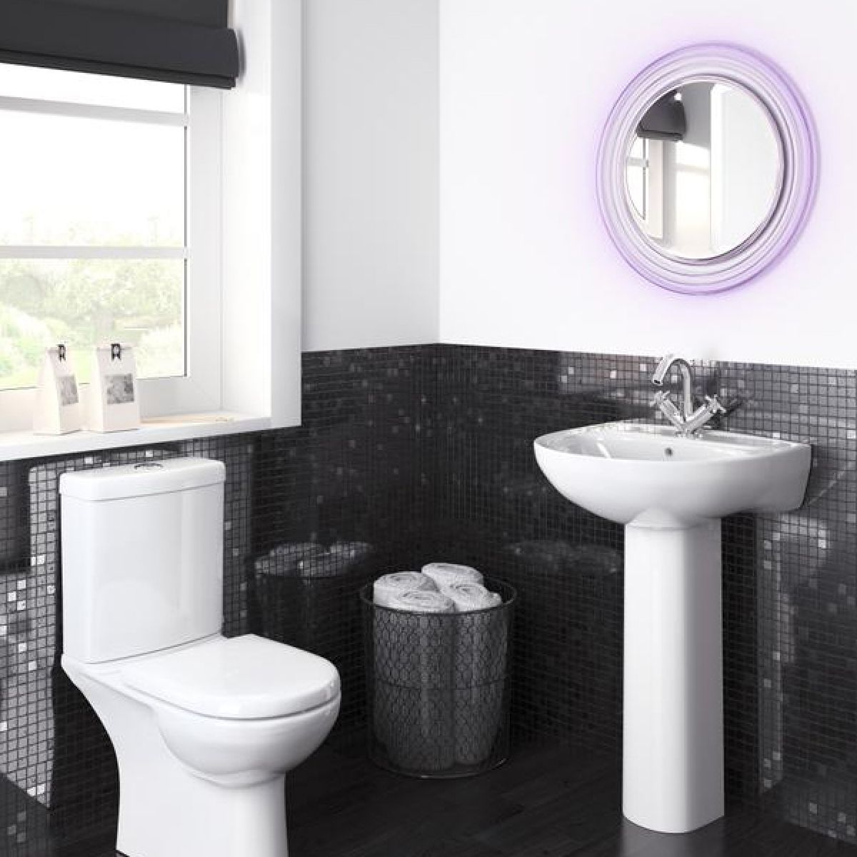 Premier Lawton Basin with Full Pedestal Lifestyle