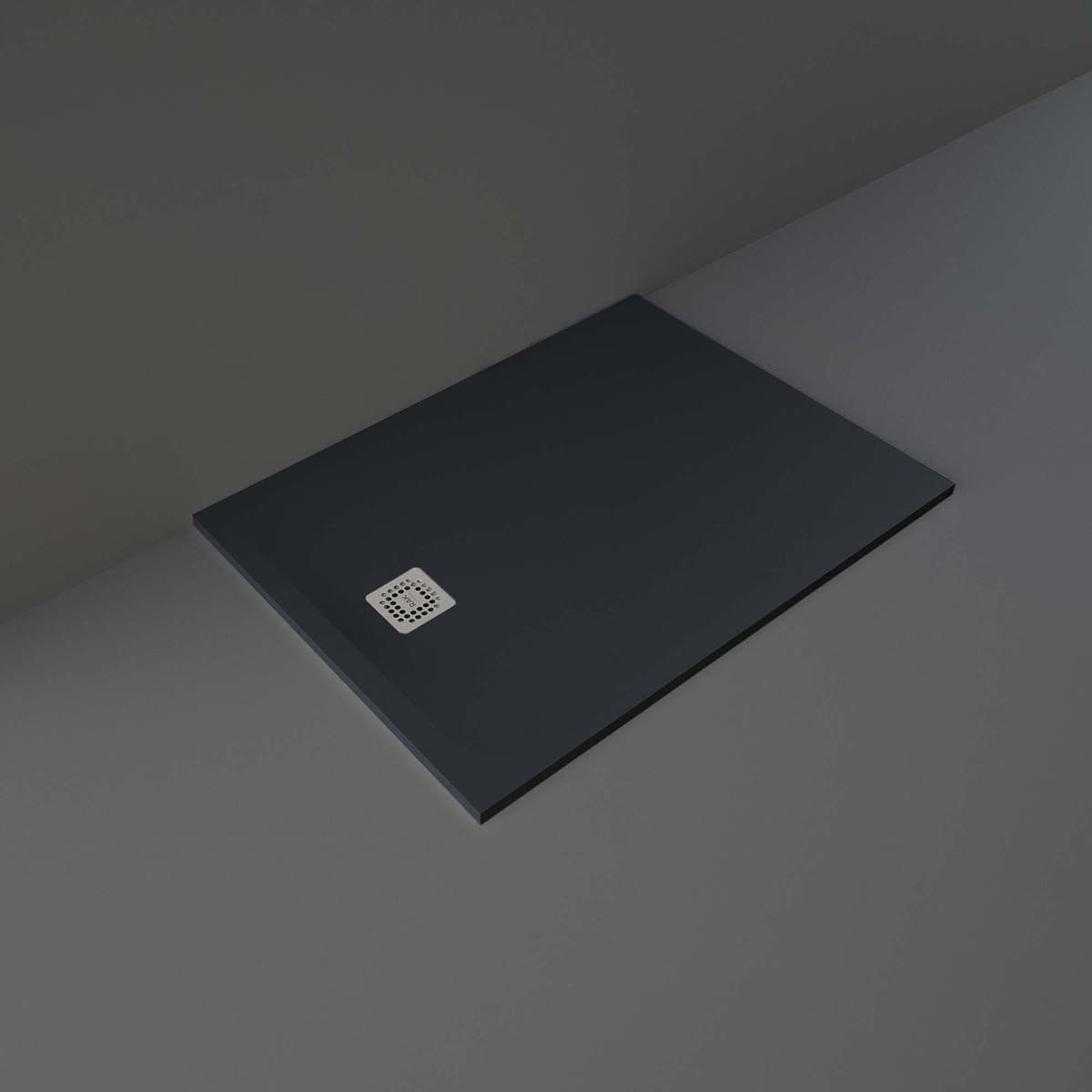 RAK Feeling Black Rectangular Shower Tray 1200 x 900mm