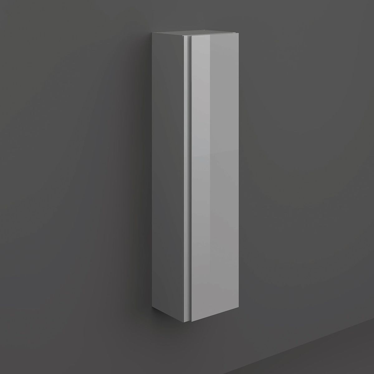 RAK Joy Wall Mounted Urban Grey Tall Storage Unit
