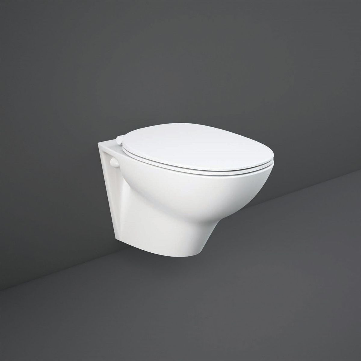 RAK Morning Rimless Wall Hung Toilet with Soft Close Seat