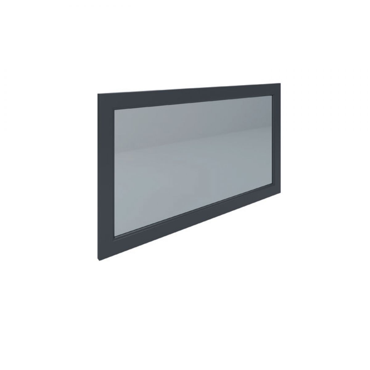 RAK Washington Black Bathroom Mirror 1200mm