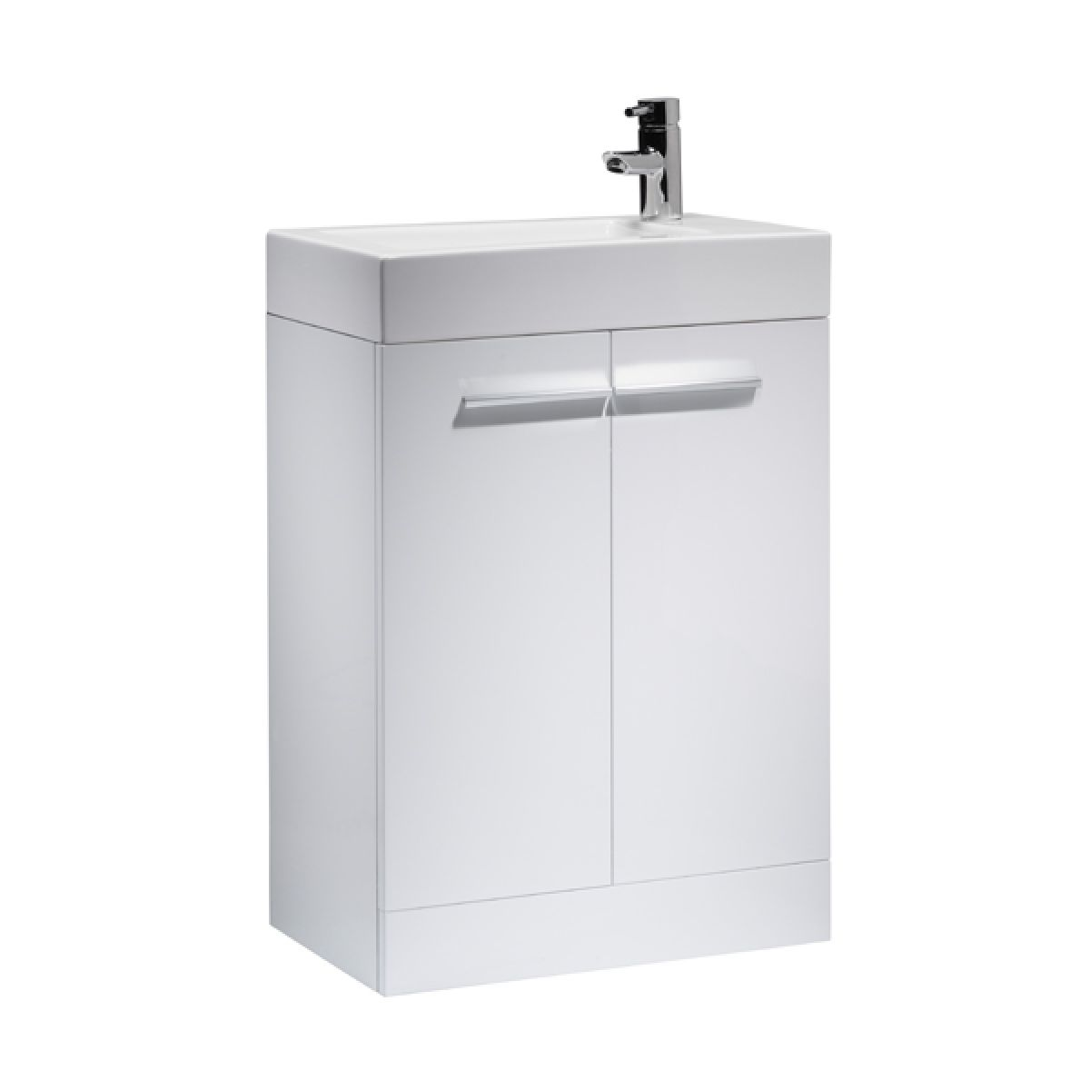 Tavistock Kobe White Floor Mounted Vanity Unit 560mm
