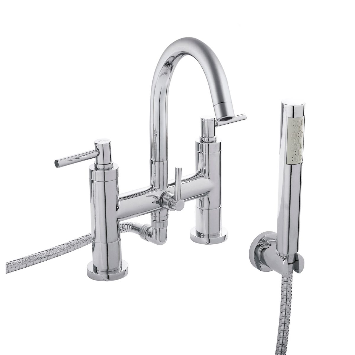 Hudson Reed Tec Lever Bath Shower Mixer Tap