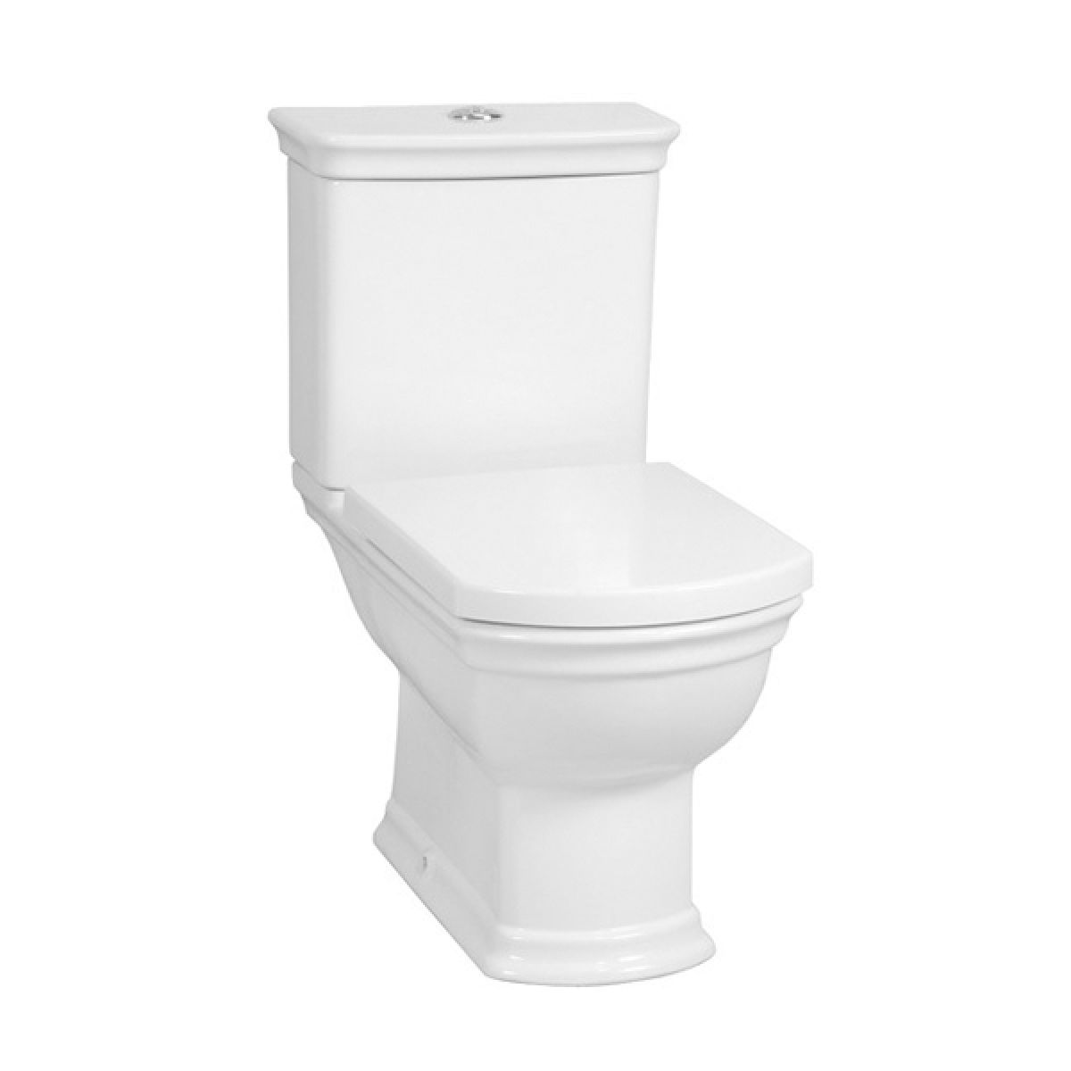 Vitra Serenada Close Coupled Open Back Toilet