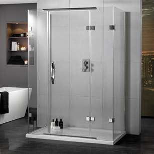 3 Sided Shower Enclosures Amp Cubicles D Shaped Bella