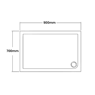 900 x 700 Shower Trays