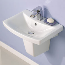 Basins with Semi Pedestals