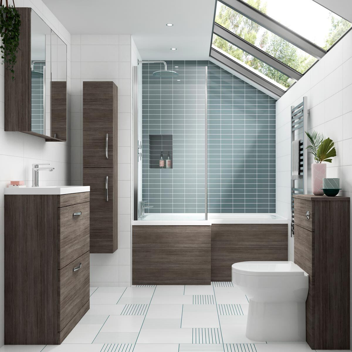 Elegant Bathroom Furniture Sets