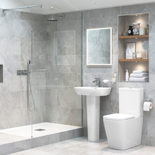 Complete Bathroom Suites | Full Bathroom Suite Packages