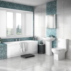 Premier Asselby Modern Bathroom Suites Contemporary.