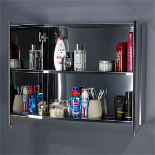 Stupendous Mirrored Bathroom Cabinets Bathroom Wall Cabinets Complete Home Design Collection Barbaintelli Responsecom