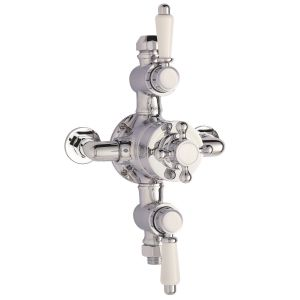 Premier Victorian Traditional Triple Exposed Thermostatic Shower Valve