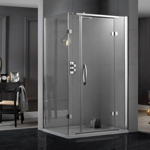 Aquadart Inline Hinged 2 Sided Door Shower Enclosure