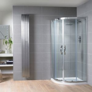 Aquadart Venturi 8 Double Door Offset Quadrant Shower Enclosure