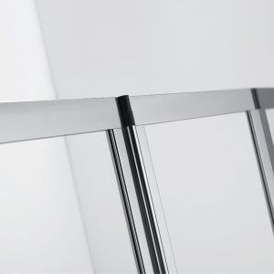 Frontline Aquaglass+ 4 Fold Bath Screen Detail