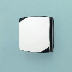 HiB Breeze SELV Wall Mounted Chrome Wet Room Extractor Fan