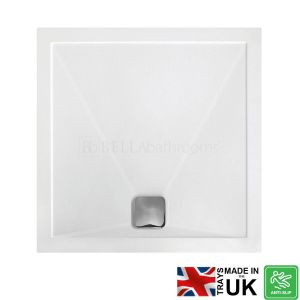 Bathrooms To Love Square Anti-Slip Shower Tray with Waste 800mm x 800mm